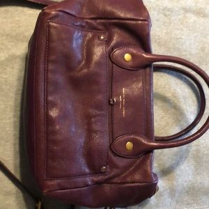 Marc  by Marc jacobs wine colored bag